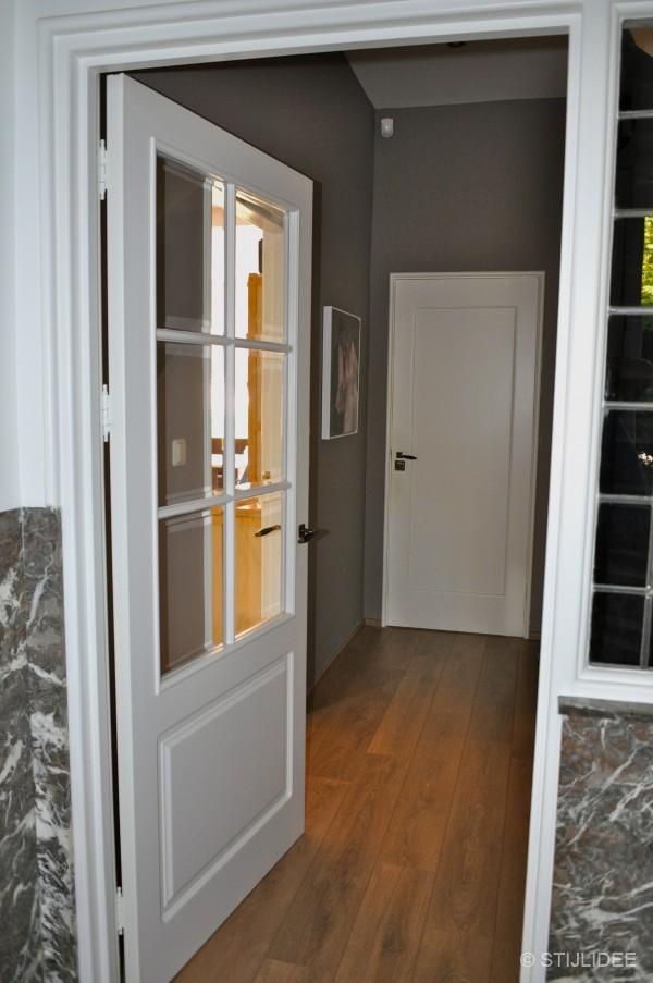 Binnenkijken in utrecht 3 - Schilderen voor entree en hal ...