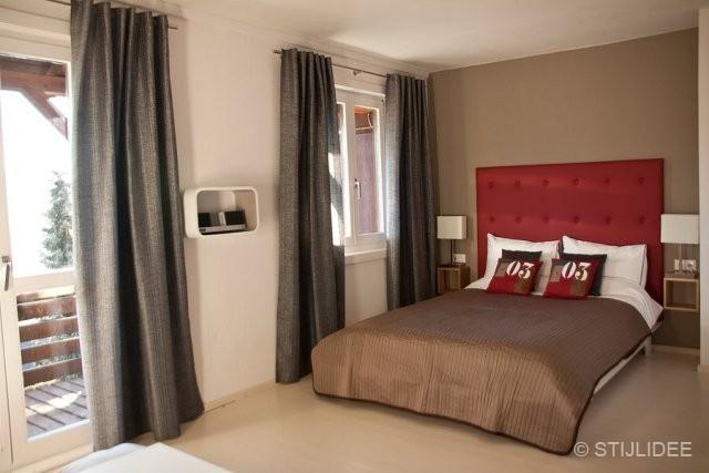 slaapkamer hotel in oostenrijk na stijlidee interieuradvies en