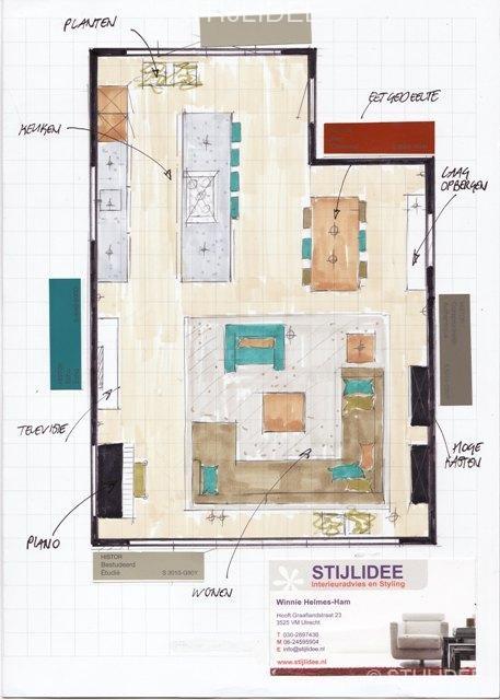Stijlidee interieuradvies en styling door interieurstylist - Interieur ontwerp trap ...