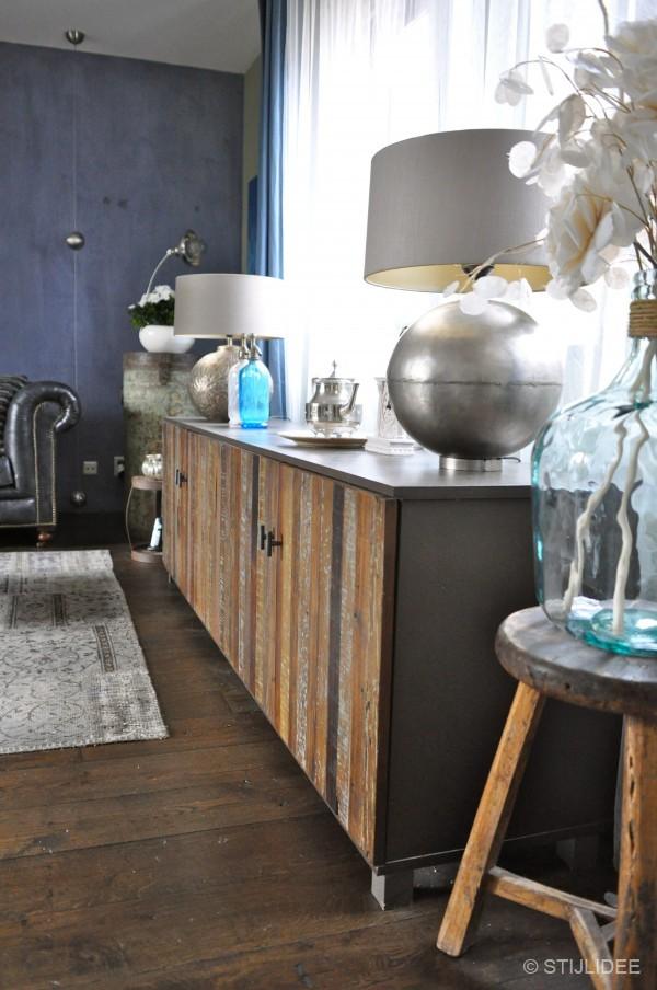 Idee woonkamer sfeer ideeen : Binnenkijken in ... een modern klassieke vintage woonkamer in Vleuten