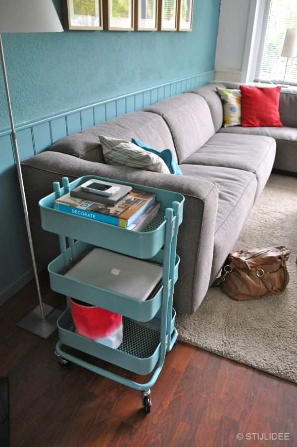 Top 10: multifunctionele turquoise trolley