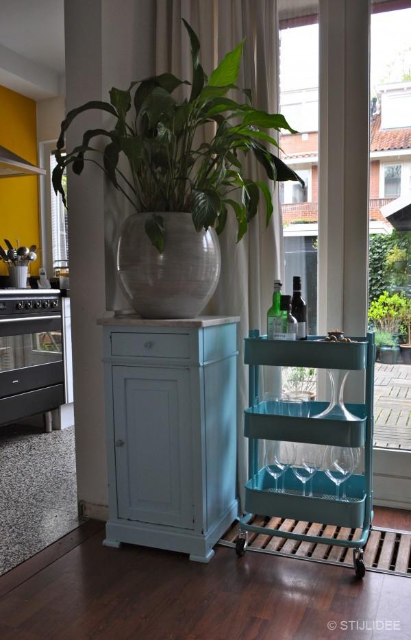 TOP 10: Multifunctionele turquoise trolley past in iedere ruimte | STIJLIDEE Interieuradvies en Styling