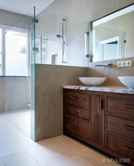 Binnenkijken in ... een badkamer in Utrecht