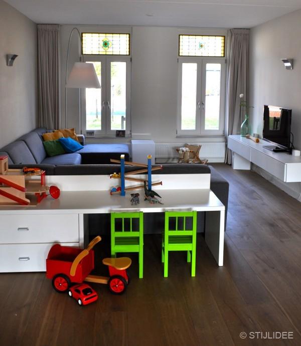 Binnenkijken in een herenhuis met woonkeuken in op for Woonkamer planner