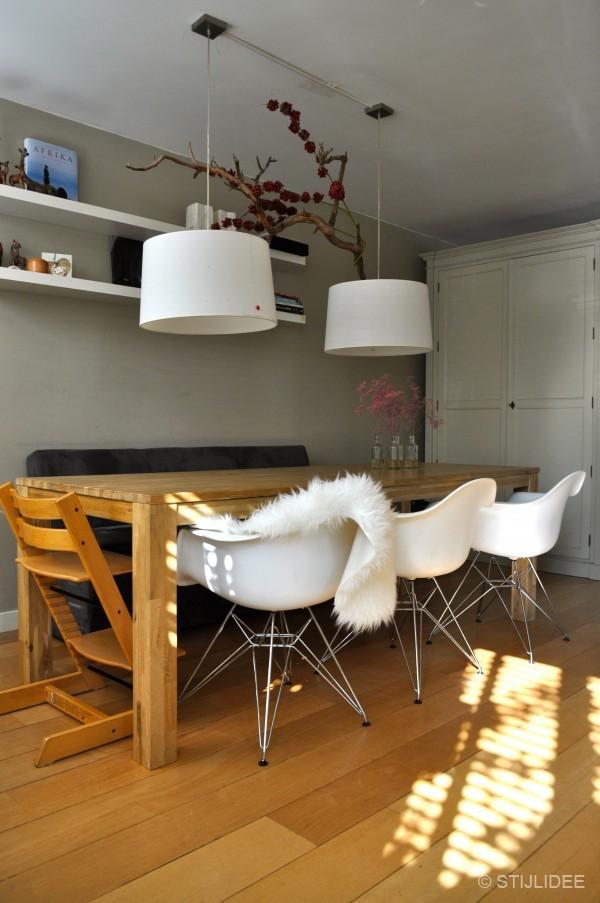 Modern landelijke eetkamer in odijk na stijlidee 39 s - Moderne eetkamer ...