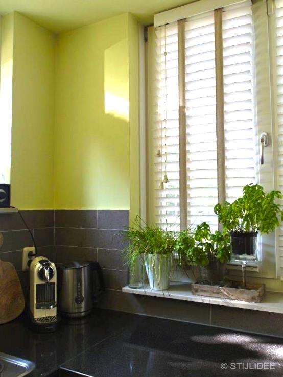 Binnenkijken in … een groene keuken in Odijk bij Utrecht