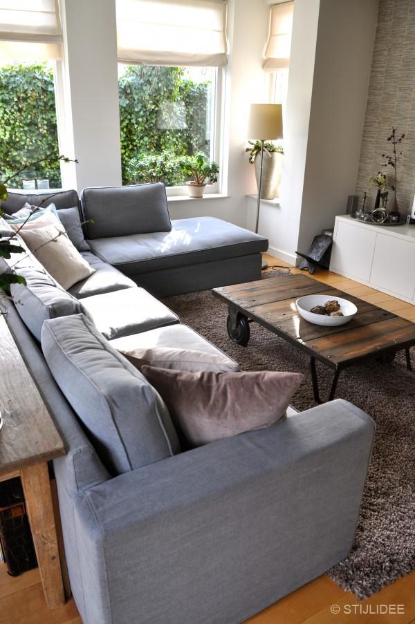 Binnenkijken in een modern landelijke woning in odijk 2 for Deco woonkamer moderne woonkamer