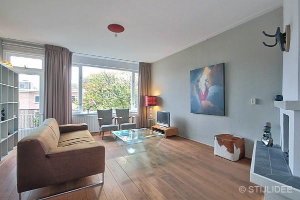 Binnenkijken in een modern en ruimtelijk appartement in amsterdam - Modern appartement modern appartement ...