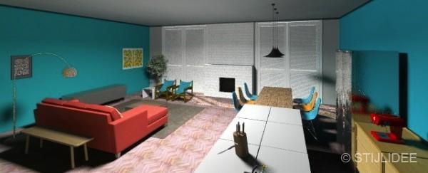 Stijlidee keukenontwerp voor een familiehuis met kleur siematic stylist - Muur decoratie ontwerp voor woonkamer ...