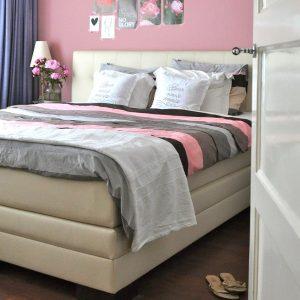 Binnenkijken in … een modern romantische slaapkamer in Utrecht na STIJLIDEE Interieuradvies, Kleuradvies en Styling