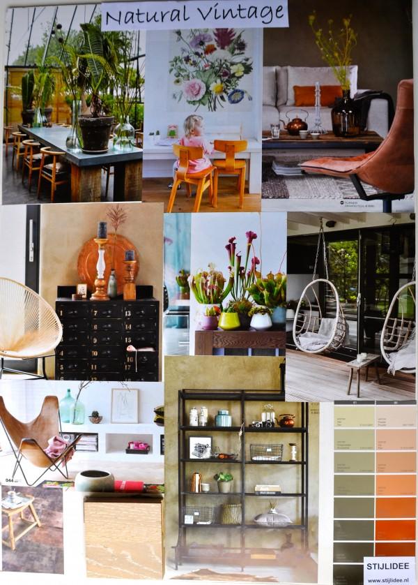STIJLIDEE Woonstijlen 2015-2016 | Moodboard: STIJLIDEE Interieuradvies en Styling | Natural Vintage