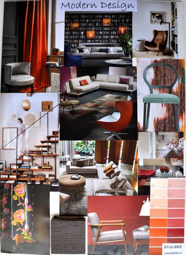 STIJLIDEE Woonstijlen 2015-2016 | Moodboard: STIJLIDEE Interieuradvies en Styling | Modern Design