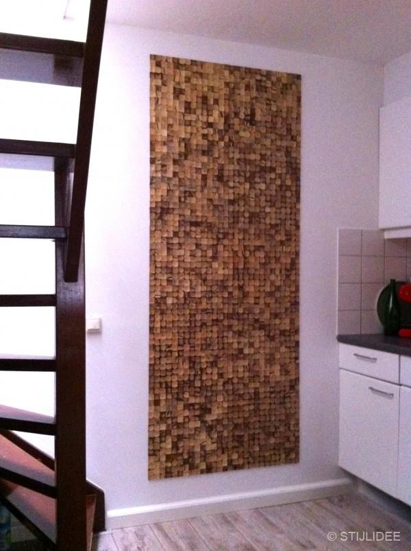 Binnenkijken in … een keuken met natuurlijke wanddecoratie in Schiedam