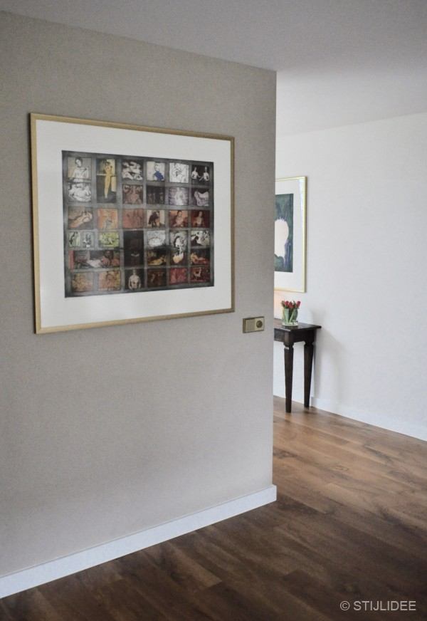 Binnenkijken in een modern landelijke keuken en woonkamer met eiken vinylvloer in ijsselstein - Keuken licht eiken ...