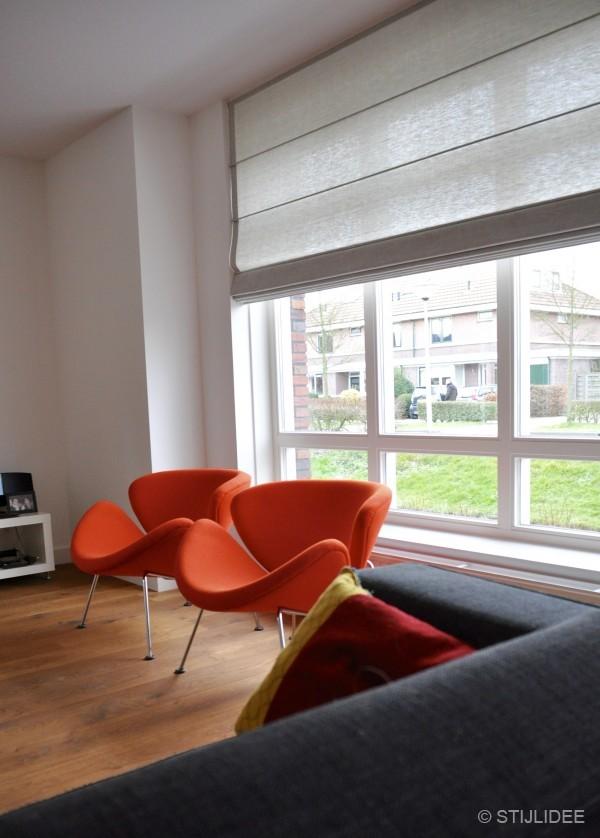 Binnenkijken in een woonkamer in modern landelijke stijl in den hoorn - Moderne eetkamer en woonkamer ...