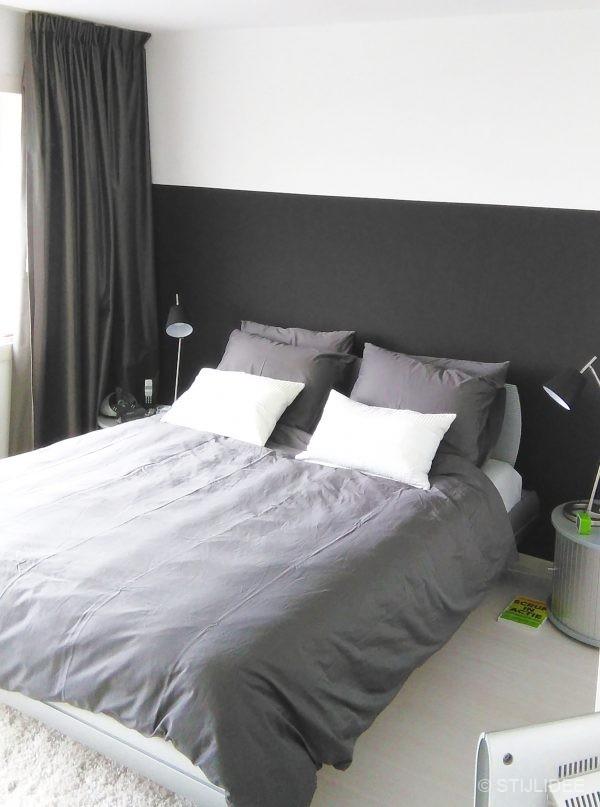 Binnenkijken in ... een moderne design slaapkamer met zwart en wit ...