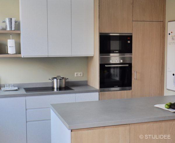 Wit keuken hout - Keuken steen en hout ...