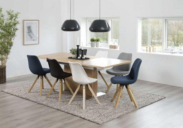 Stoelen de nieuwste eetkamerstoelen in scandinavisch design voor een budget prijs - Eigentijds eetkamer model ...