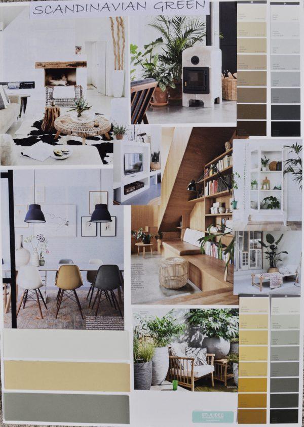 STIJLIDEE Woonstijlen 2017 | Moodboard: STIJLIDEE Interieuradvies en Styling | Scandinavian Green