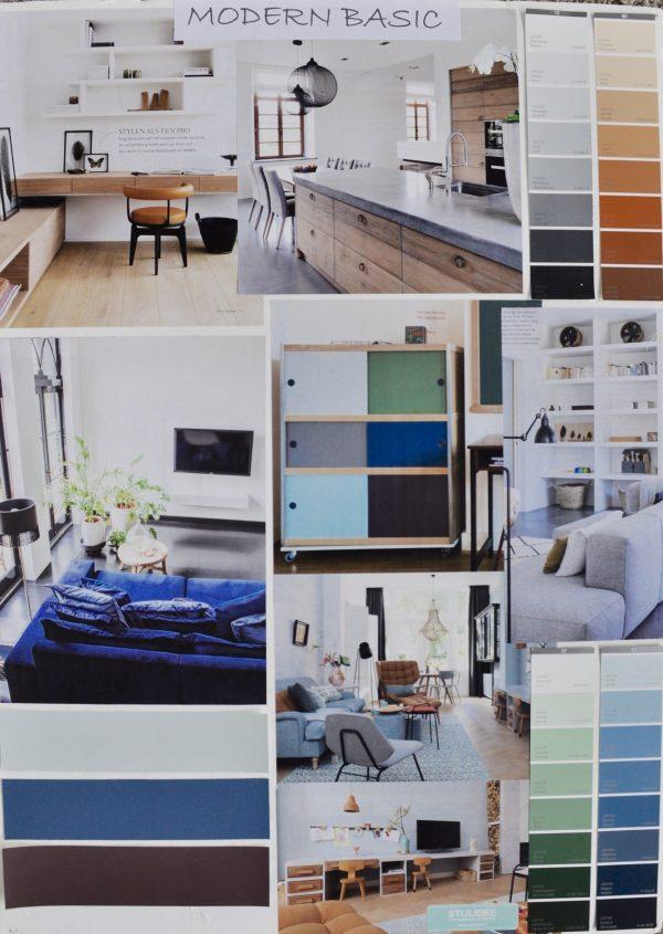 STIJLIDEE Woonstijlen 2017 | Moodboard: STIJLIDEE Interieuradvies en Styling | Modern Basic