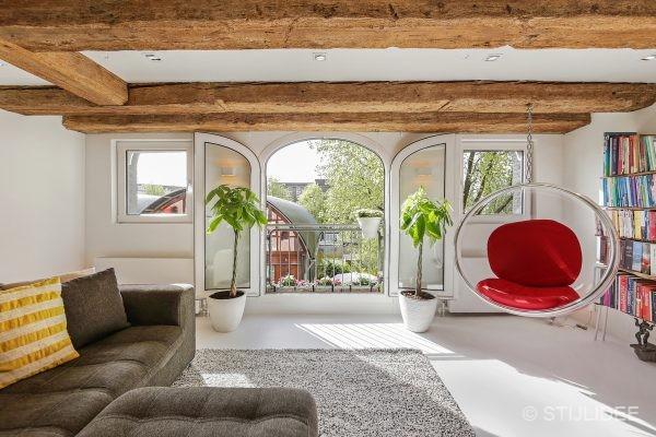 Binnenkijken in ... een pakhuis op Prinseneiland in Amsterdam na STIJLIDEE Interieuradvies, Kleuradvies en Styling
