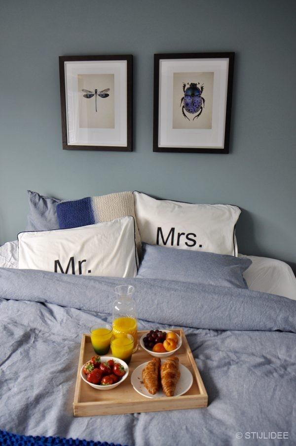 Binnenkijken in een master bedroom in modern klassieke stijl - Het creeren van een master suite ...