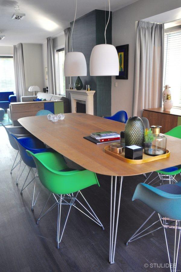 Binnenkijken in een woonkamer in modern klassieke for Interieuradvies utrecht